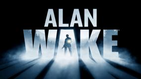 Alan Wake Game Poster Black Background